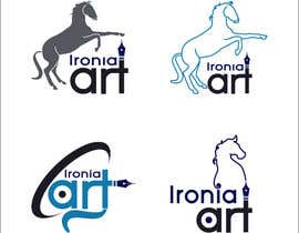 #14 for Design a Logo for equestrian artist by rahulwhitecanvas