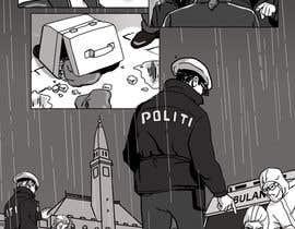 topdrawer tarafından Black and White Comic Illustration için no 13