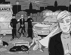 gadzstudio tarafından Black and White Comic Illustration için no 28