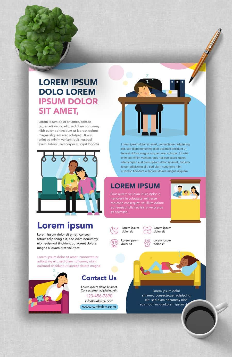 Penyertaan Peraduan #                                        74                                      untuk                                         Design a Portrait style Poster/flyer.