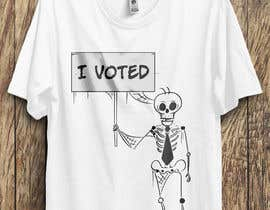#29 for I Voted Tee Design by alonekaium
