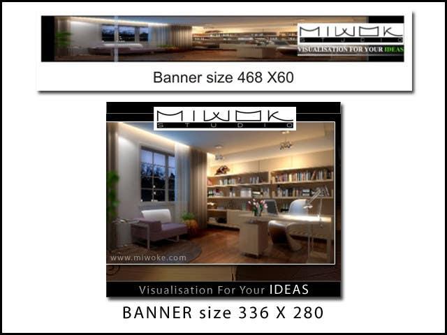Konkurrenceindlæg #                                        24                                      for                                         Banner Ad Design for Miwok Studio
