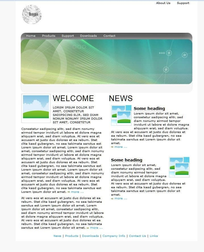 Entri Kontes #                                        7                                      untuk                                        Create a Wordpress Template for a Technical Tutorial Blog