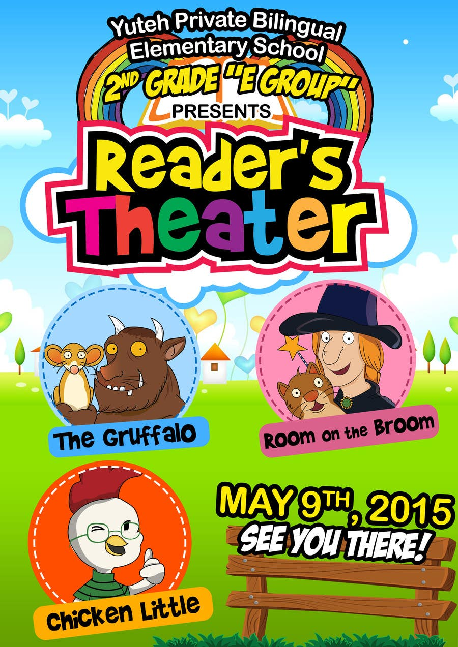 Contest Entry #                                        13                                      for                                         school Reader's Theater invitation
