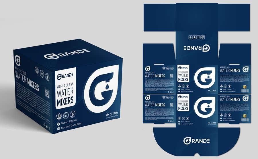 Bài tham dự cuộc thi #                                        37                                      cho                                         Water Mixer Packing Design