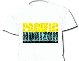#12 untuk Design a custom T-Shirt for Pacific Horizon oleh tlacandalo