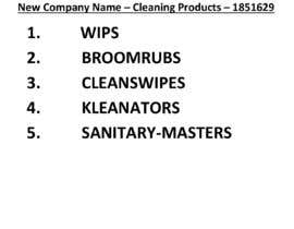 nº 433 pour New company name par rssob7