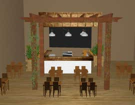 #25 para Interior Design or Layout and 3d Rendering for a restaurant project por TheresaSuen
