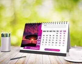 #11 for Create a 2021 Desk Calendar by Tamim2019