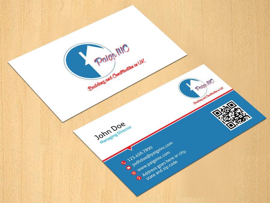 Konkurrenceindlæg #                                        40                                      for                                         Concevez des cartes de visite professionnelles for Paige Inc