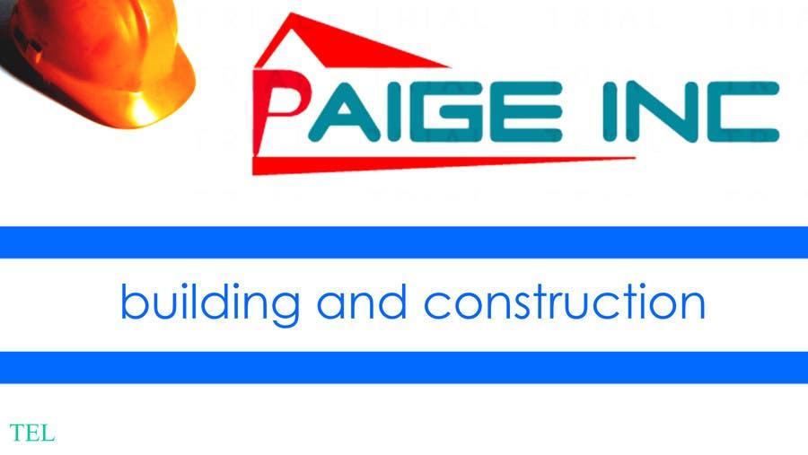 Konkurrenceindlæg #                                        26                                      for                                         Concevez des cartes de visite professionnelles for Paige Inc