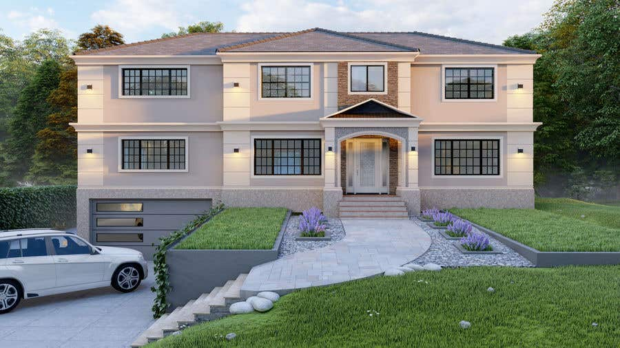 Конкурсная заявка №                                        72                                      для                                         I NEED AN EXTERIOR DESIGNER - WITH EXPERIENCE DESIGNING RESIDENTIAL HOMES IN THE USA NORTHEST
