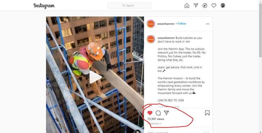 Penyertaan Peraduan #                                        74                                      untuk                                         Find One Piece of Instagram Content (Construction Industry)