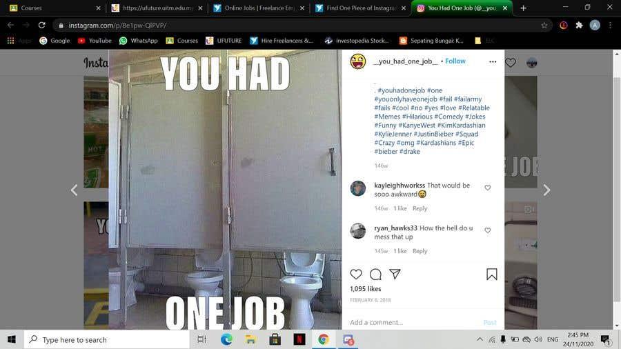 Penyertaan Peraduan #                                        10                                      untuk                                         Find One Piece of Instagram Content (Construction Industry)