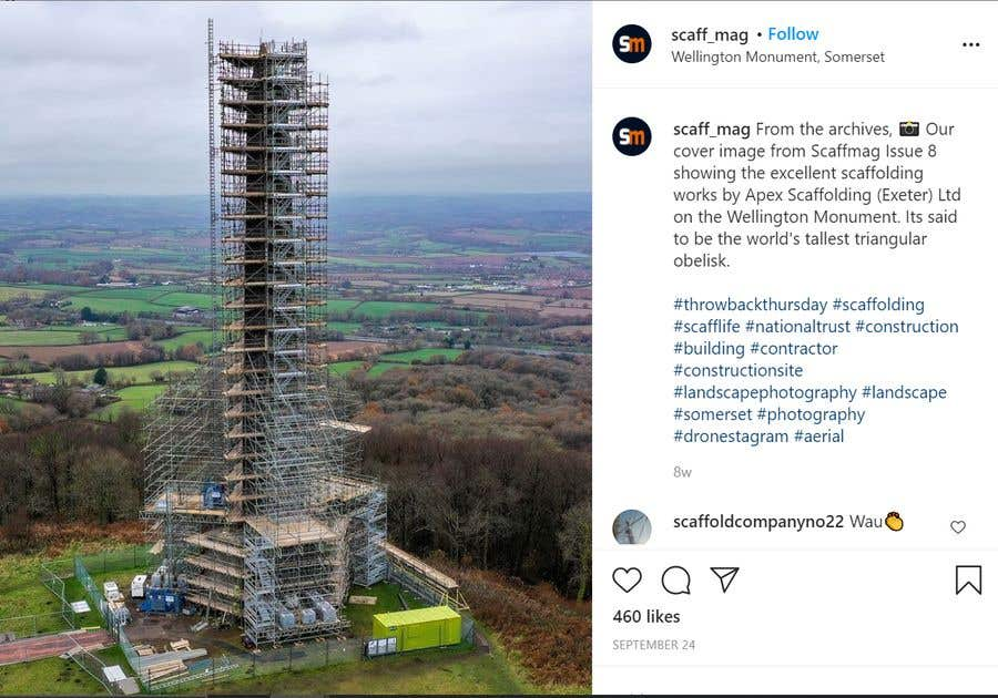 Penyertaan Peraduan #                                        27                                      untuk                                         Find One Piece of Instagram Content (Construction Industry)