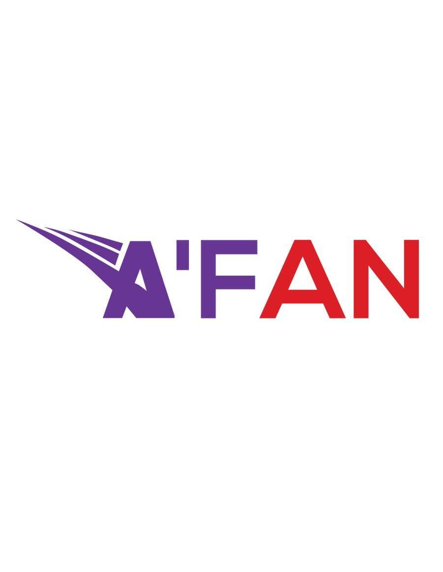 Kilpailutyö #                                        8                                      kilpailussa                                         Need a professional design brand  A'FAN