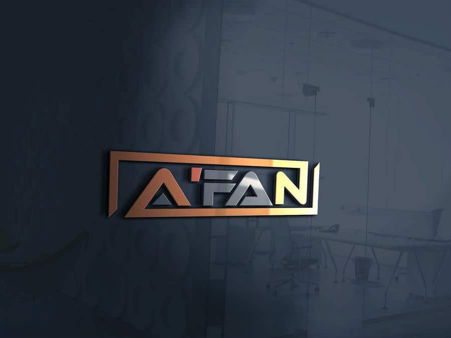 Kilpailutyö #                                        83                                      kilpailussa                                         Need a professional design brand  A'FAN