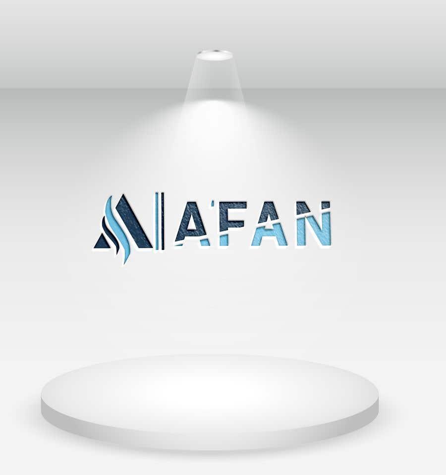 Kilpailutyö #                                        40                                      kilpailussa                                         Need a professional design brand  A'FAN