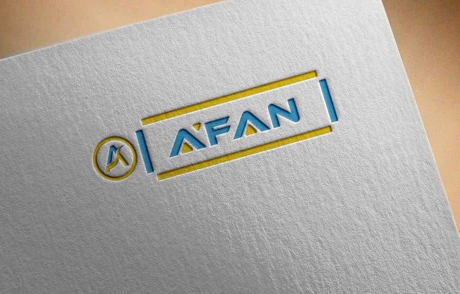 Kilpailutyö #                                        75                                      kilpailussa                                         Need a professional design brand  A'FAN
