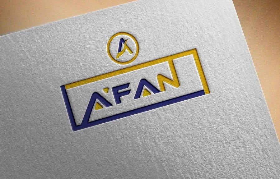 Kilpailutyö #                                        76                                      kilpailussa                                         Need a professional design brand  A'FAN