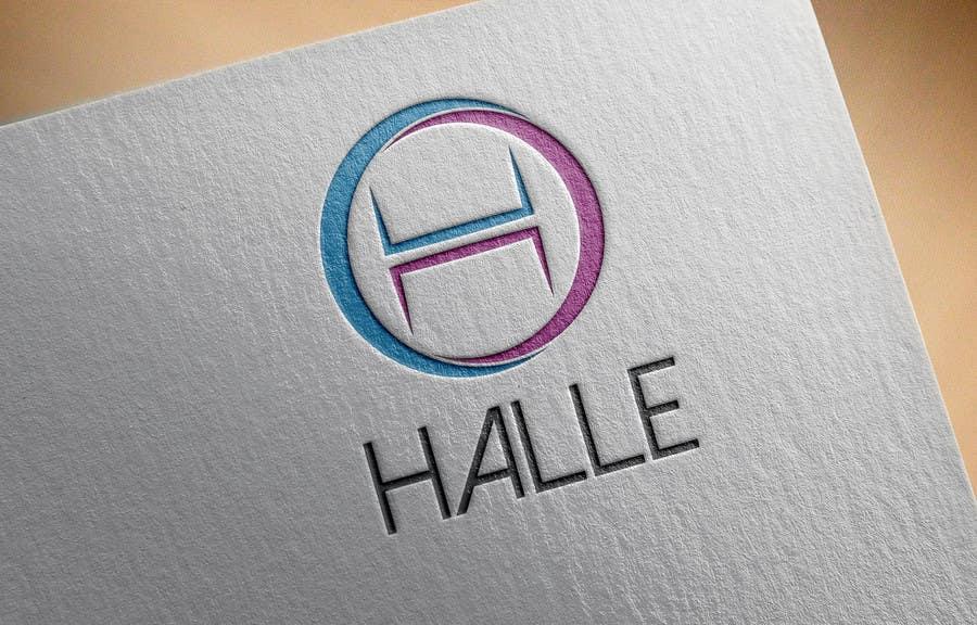 Proposition n°                                        208                                      du concours                                         Design a logo for HALLE - Diseñar un logo para HALLE