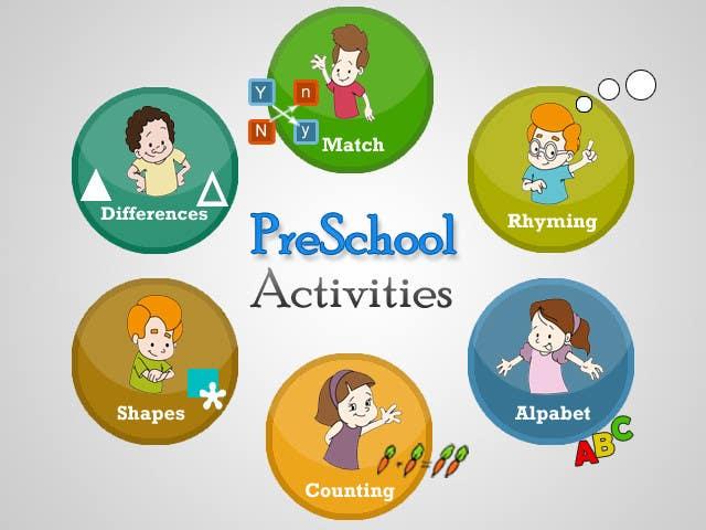 Bài tham dự cuộc thi #                                        16                                      cho                                         Illustration for Preschool activities for KIDS.