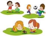 Graphic Design Konkurrenceindlæg #27 for Illustration for Preschool activities for KIDS.