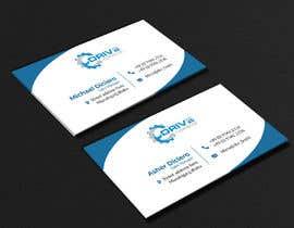 #972 para business card design por RsdTanvir