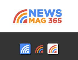 ansardeo tarafından Urgently required very sleek and eligent designed logo and favicon for my website which is based on online news => website brand name is News Mag 365 so i am looking for logo and favicon for it in 3 colors için no 33