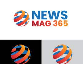 ansardeo tarafından Urgently required very sleek and eligent designed logo and favicon for my website which is based on online news => website brand name is News Mag 365 so i am looking for logo and favicon for it in 3 colors için no 37