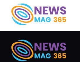 DesignerShahazad tarafından Urgently required very sleek and eligent designed logo and favicon for my website which is based on online news => website brand name is News Mag 365 so i am looking for logo and favicon for it in 3 colors için no 56