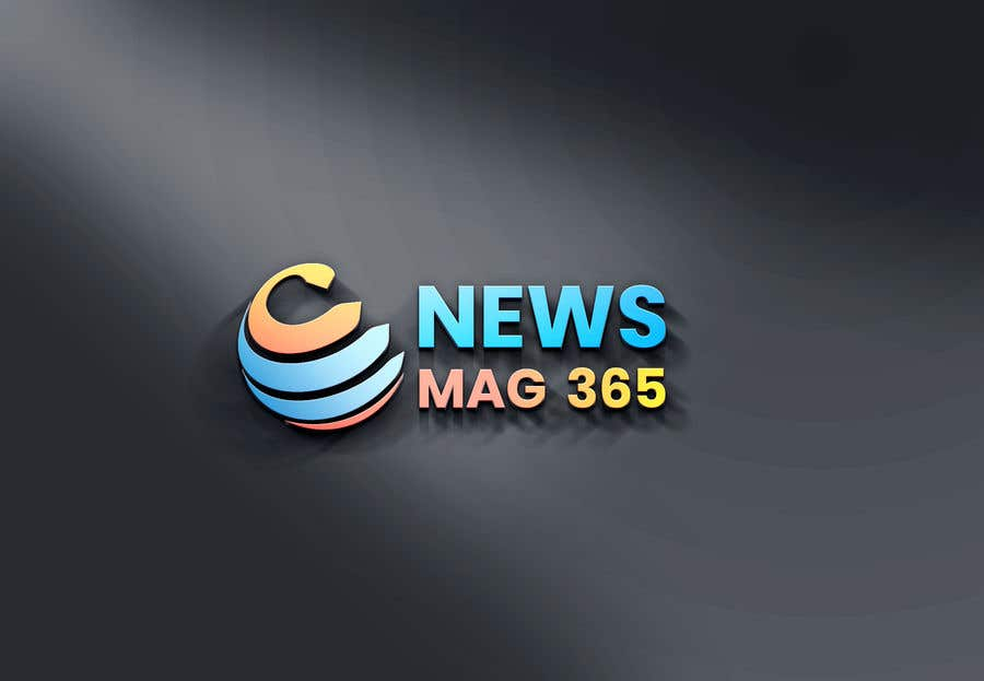 Penyertaan Peraduan #                                        67                                      untuk                                         Urgently required very sleek and eligent designed logo and favicon for my website which is based on online news => website brand name is News Mag 365 so i am looking for logo and favicon for it in 3 colors