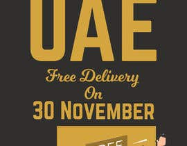 #22 for I want to make an advertisement of a delivery company that will do promotion of free delivery on 30 Of November af UdhayasuriyanS