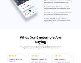 #6 for Landing to App mobilile by MaynuddinDesignr