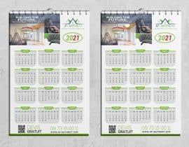Nro 186 kilpailuun A4 format calendar 2021 käyttäjältä akkasali43a