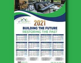 Nro 185 kilpailuun A4 format calendar 2021 käyttäjältä designconcept86
