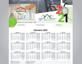 Nro 210 kilpailuun A4 format calendar 2021 käyttäjältä ronysaha085