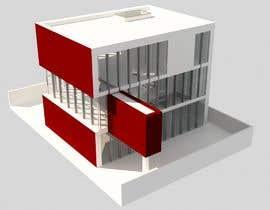 #14 untuk drawing of  futuristic looking office building oleh lebzanacer