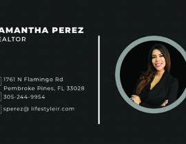 #365 for Business Cards - Samantha Perez by aryanhabib863