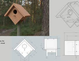 #38 for Make a series of building plans for birdhouses (Fun job!) by ValkovIhor
