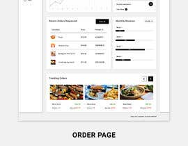 #36 cho Restaurant Dashboard Design/Redesign bởi greenarrowinfo