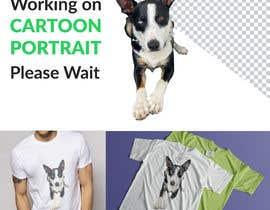 Nro 155 kilpailuun make my dog image background transparent so I can print them on t-shirts, socks, shorts, etc. käyttäjältä fahimabrar711