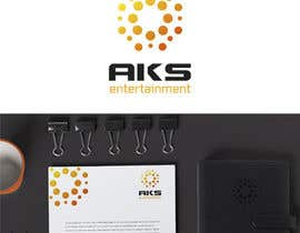 nº 38 pour Develop a Corporate Identity for AKS Entertainment par ekaterynakat
