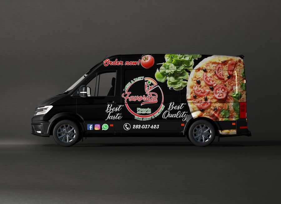 Proposition n°                                        49                                      du concours                                         build a pizza restaurant desing in a car