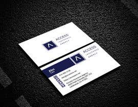 """#48 for Need a 2"""" x 3.5"""" Standard business card design af sultanagd"""