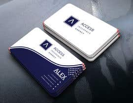 "#45 for Need a 2"" x 3.5"" Standard business card design af rabbym412"