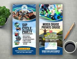 #65 for Sip-n-Cycle Flyer 2 by alomgirdesigner