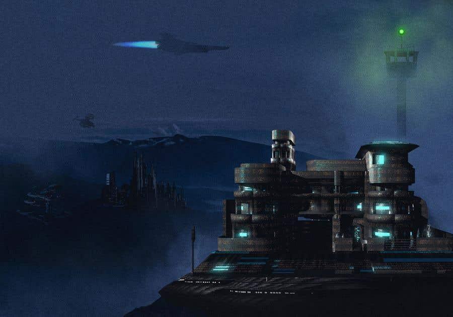 Kilpailutyö #                                        6                                      kilpailussa                                         Concept Artwork Design: Sci-Fi landscape (Community)