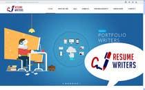 Resume Writing Services Website için Website Design3 No.lu Yarışma Girdisi