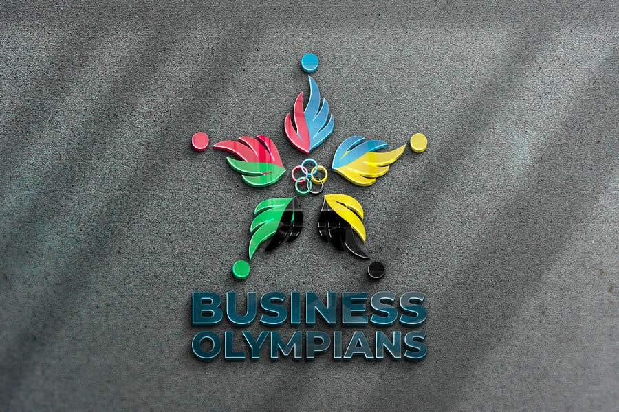 Penyertaan Peraduan #                                        130                                      untuk                                         Business Olympians Logo